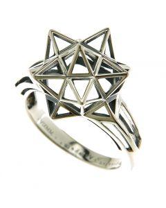 Framed Mini Silver Ring