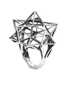 Framework Star Silver Ring