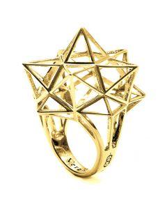 Framework Star Gold Ring