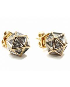Icoso Diamond Gold Stud Earring