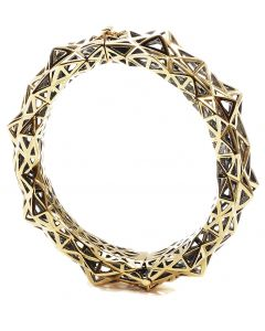 Stellated Gold Bracelet