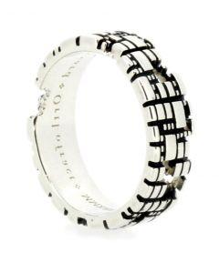 Torus Medium Silver Ring