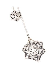 Framework Star Silver Pendant