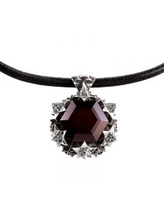 Thoscene Garnet Pendant