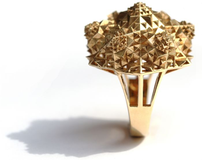 Gold One of a Kind Thoscene Ring