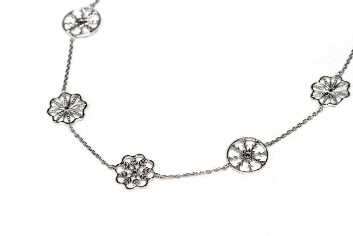 Snow Queen Long Necklace