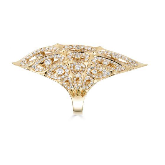 Gold Morphogen Shield Ring