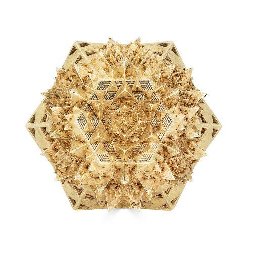 Gold Universal Thoscene Ring