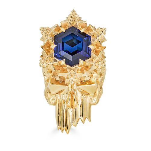 Momento Mori 18k Gold Skull Ring