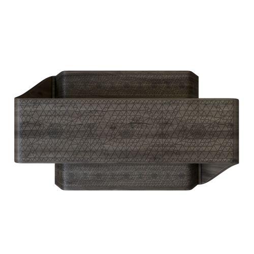 Fractal Solid Teak Picnic Table & Bench